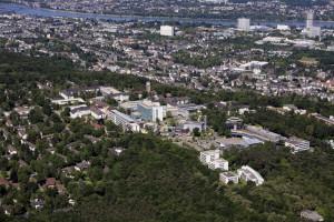 Luftbild Universitätsklinikum Bonn