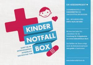Kindernotfall-Box | Erste Hilfe Set für Kinder